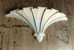 Side Tower Corbel Before Gilding